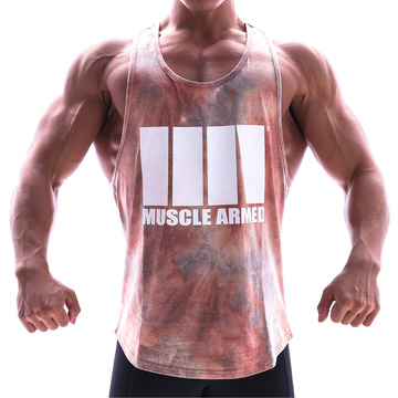 MUSCLE TANK TOP [ORANGE]
