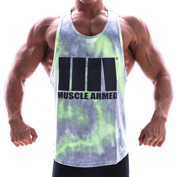 MUSCLE TANK TOP [GREEN]